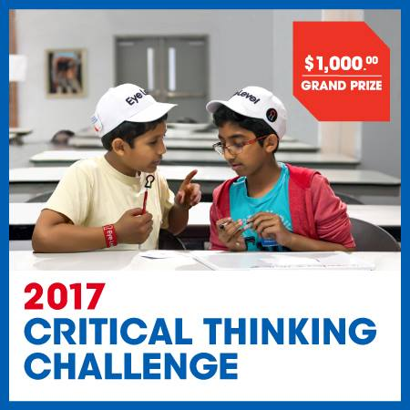6 critical thinking challenges The critical thinking company publishes prek-12+ books and software to develop critical thinking in core subject areas.